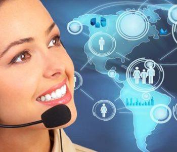 téléopérateurs d'un centre d'appels